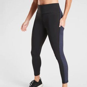 Athleta Ultimate Stash Colorblock 7/8 Tight XSP